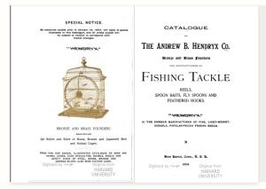 Andrew B. Hendryx catalog 1904