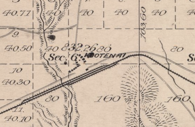 GLO map T57N R1W, 14 May 1894, surveyed Nov.-Dec. 1892