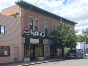 The Krebs Building that once housed Kerr & Nead Grocery as well as the Economy Grocery.